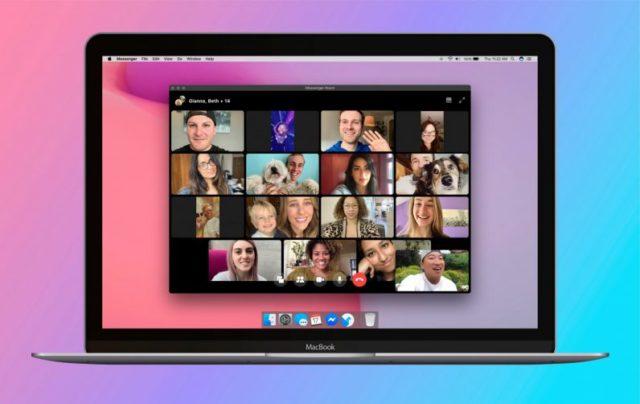 Messenger Rooms, l'équivalent de zoom lancé par Facebbok